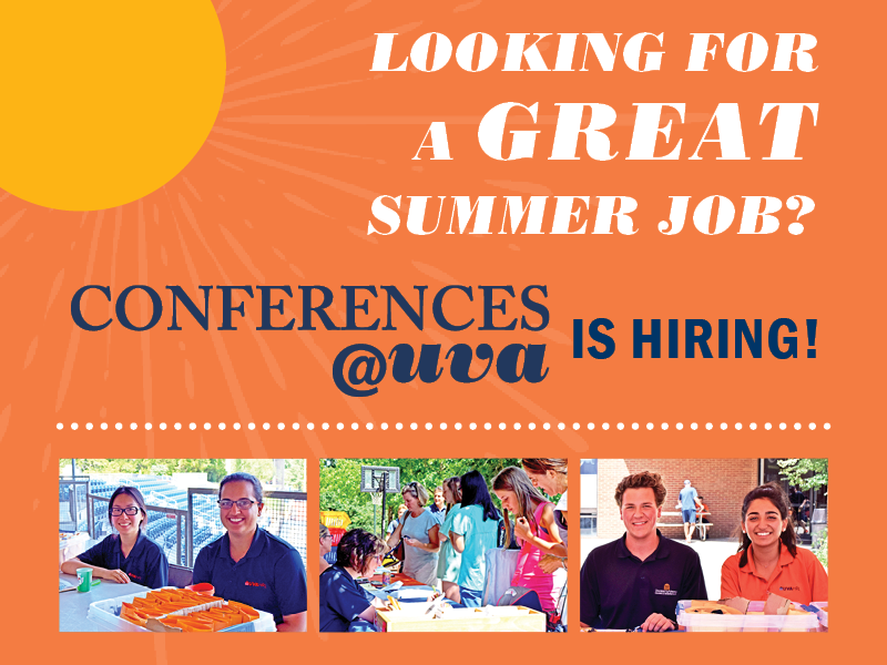 Looking for a great summer job?